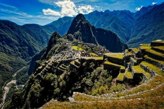 short inca trail 2 days to machu picchu